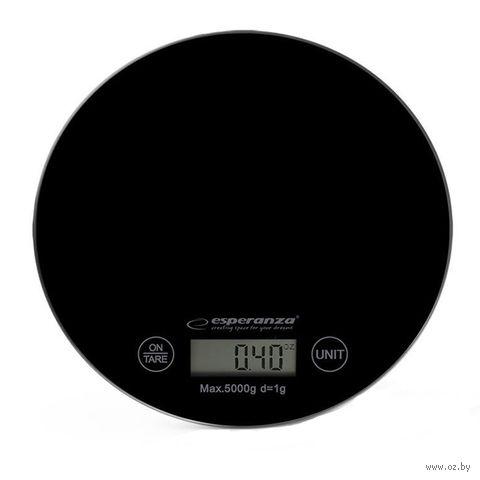 Кухонные весы Esperanza Mango EKS003 (черные) — фото, картинка