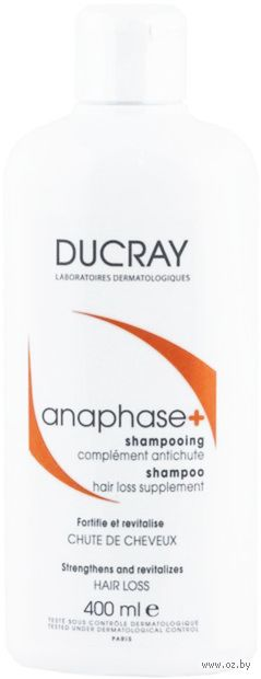 "Шампунь для волос ""Anaphase+"" (400 мл) — фото, картинка"