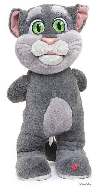 """Мягкая музыкальная игрушка """"Говорящий кот Том"""" (27 см)"""