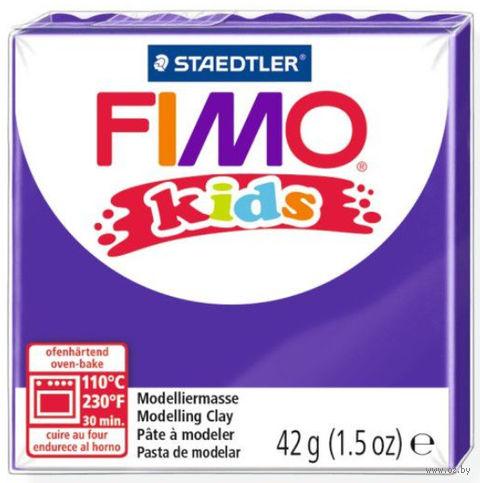 """Глина полимерная """"FIMO Kids"""" (лиловый; 42 г) — фото, картинка"""
