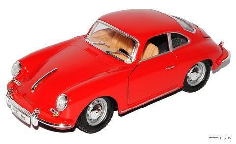 """Модель машины """"Bburago. Porsche 356B Coupe 1961"""" (масштаб: 1/24) — фото, картинка"""