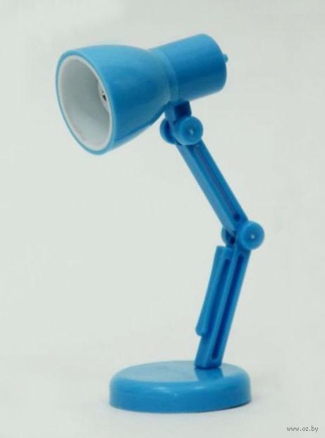 Мини-лампа (голубая; арт. 39693) — фото, картинка