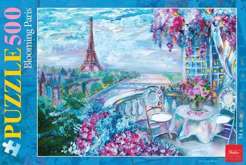 """Пазл """"Цветущий Париж"""" (500 элементов) — фото, картинка"""