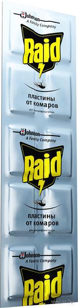 "Пластины от комаров ""Raid"" (10 шт.) — фото, картинка"