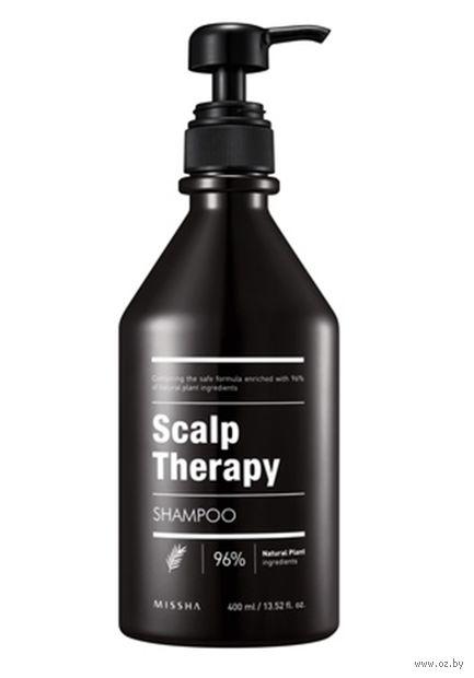 "Шампунь для волос ""Scalp Therapy"" (400 мл) — фото, картинка"