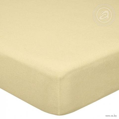 """Простыня махровая на резинке """"Акация"""" (60х120 см) — фото, картинка"""