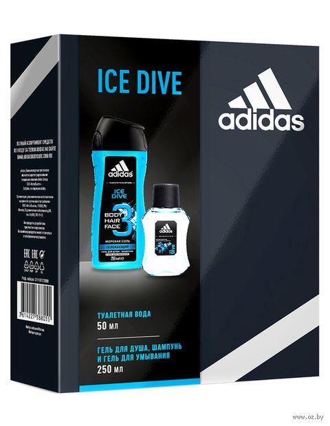 """Подарочный набор """"Ice Dive"""" (шампунь, гель для душа) — фото, картинка"""