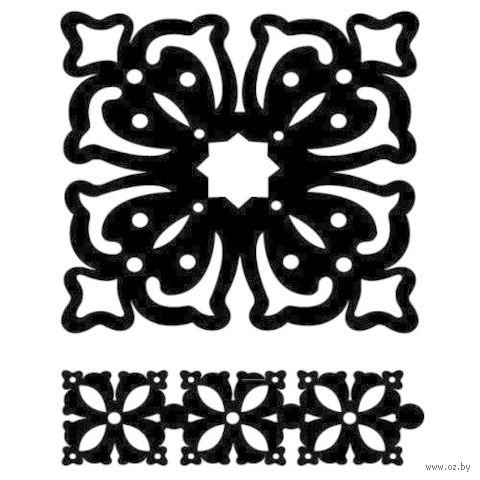 """Трафарет пластиковый """"Античность"""" (2 шт; арт. PLD-30600)"""