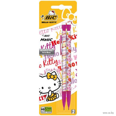 """Набор карандашей автоматических """"Hello Kitty"""" (2шт.; 0,7 мм)"""