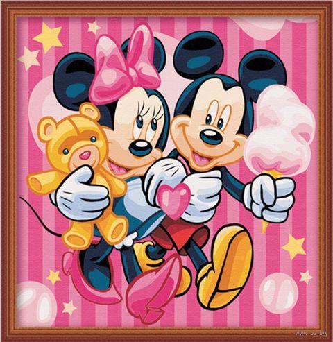 "Картина по номерам ""Розовые мечты"" (400х400 мм) — фото, картинка"