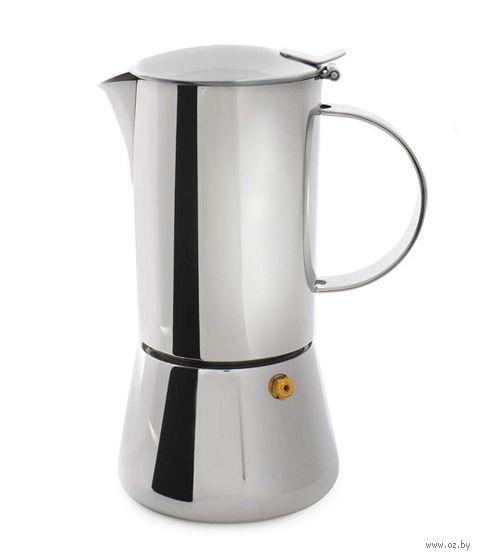 Кофеварка гейзерная металлическая (450 мл; арт. 1106917)
