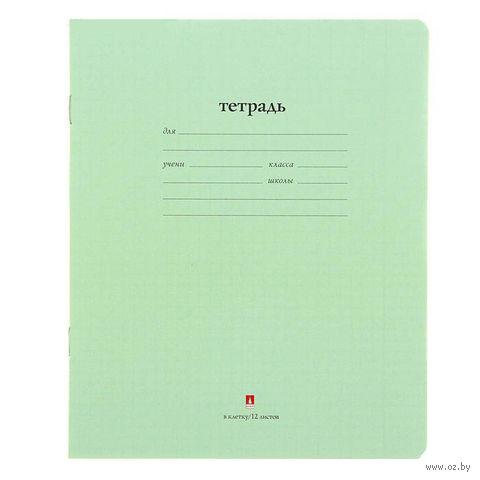 """Тетрадь в клетку """"Народная"""" (12 листов) — фото, картинка"""
