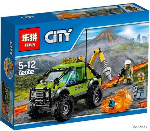 """Конструктор City """"Грузовик исследователей вулканов"""" — фото, картинка"""