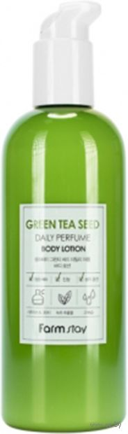 "Лосьон для тела ""Green Tea Seed Daily Perfume Body Lotion"" (330 мл) — фото, картинка"