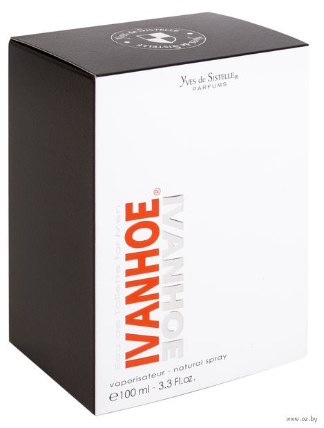 "Туалетная вода для мужчин ""Ivanhoe"" (100 мл)"