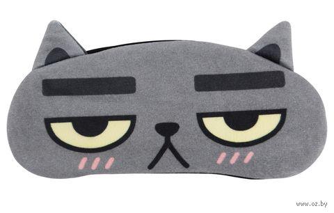 """Маска для сна """"Angry Cat"""" — фото, картинка"""