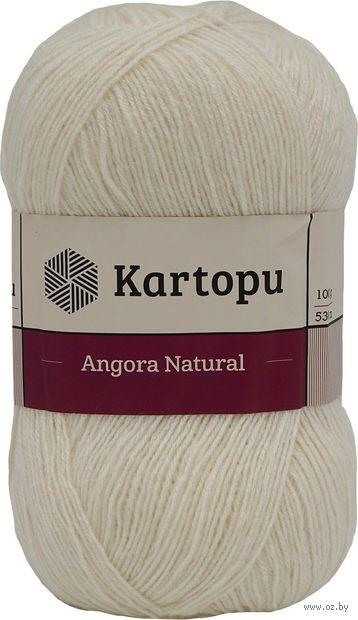 "Пряжа ""KARTOPU. Angora Natural №K025"" (100 г; 530 м; молочный) — фото, картинка"