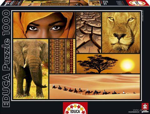 """Пазл """"Цвета Африки"""" (1000 элементов) — фото, картинка"""
