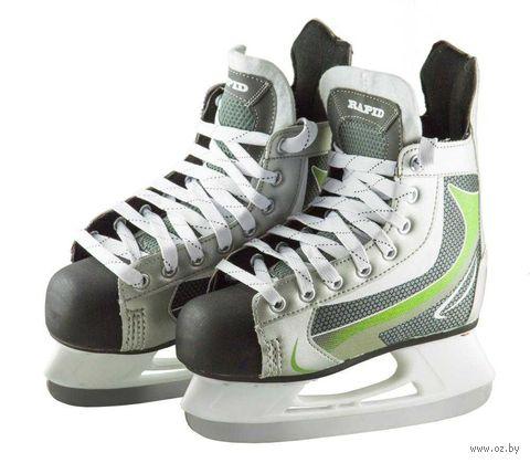"""Коньки хоккейные """"Rapid"""" (р. 41; green) — фото, картинка"""
