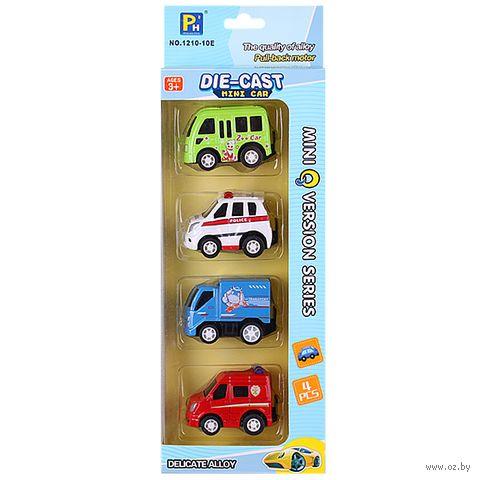"Набор машинок ""Mini Car"" (арт. DV-T-714) — фото, картинка"