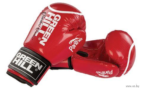 """Перчатки боксерские """"Panther"""" BGP-2098 (10 унций; красные) — фото, картинка"""