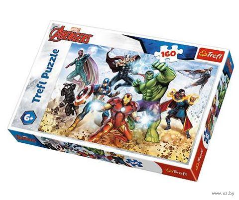 "Пазл ""Мстители. Спасти мир"" (160 элементов) — фото, картинка"