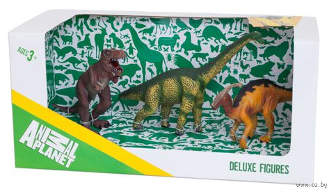 """Набор фигурок """"Animal Planet: Динозавры"""" (3 шт)"""