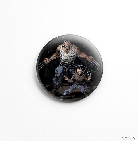 "Значок маленький ""Логан"" (арт. 609) — фото, картинка"