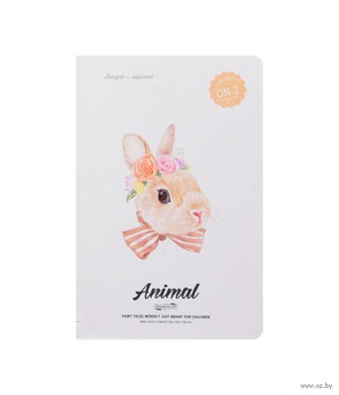 """Блокнот в линейку """"Rabbit 2"""" (185х260 мм) — фото, картинка"""