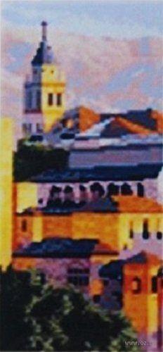 """Алмазная вышивка-мозаика """"В городе"""" (170х400 мм) — фото, картинка"""