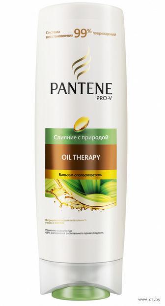 """Бальзам-ополаскиватель для волос """"Слияние с природой. Oil Therapy"""" (200 мл) — фото, картинка"""