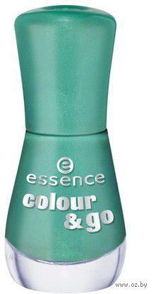 Лак для ногтей colour & go, изумрудно-зеленый (№ 179; 8 мл) — фото, картинка