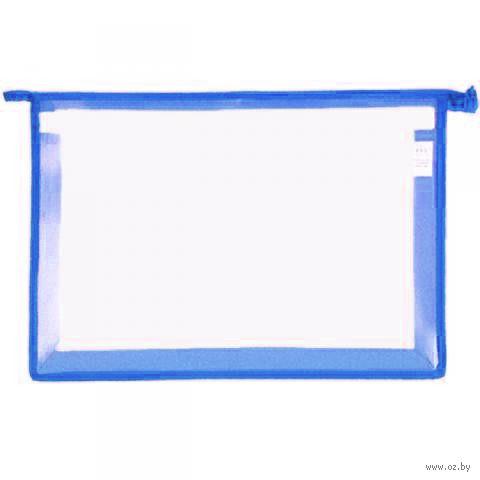Папка для тетрадей А4 (синяя)