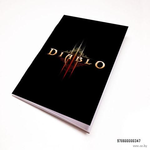 """Блокнот """"Diablo"""" (А7; арт. 347) — фото, картинка"""