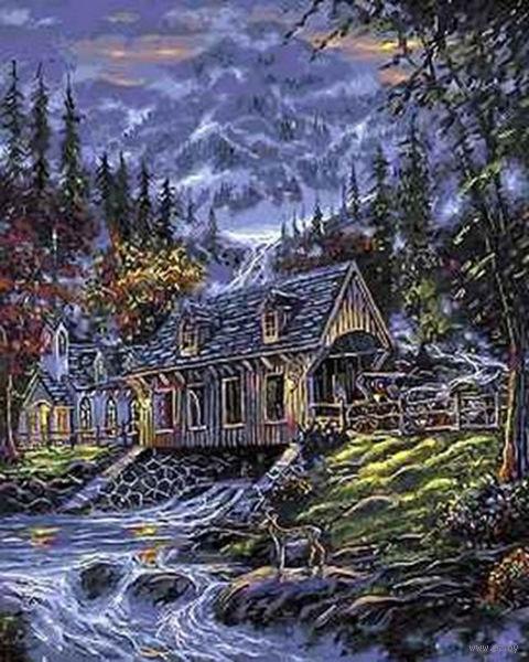 """Картина по номерам """"Альпийский пейзаж"""" (400x500 мм; арт. MG7147)"""