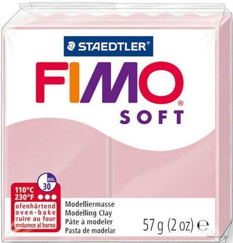 """Глина полимерная """"FIMO Soft"""" (нежно-розовый; 57 г) — фото, картинка"""