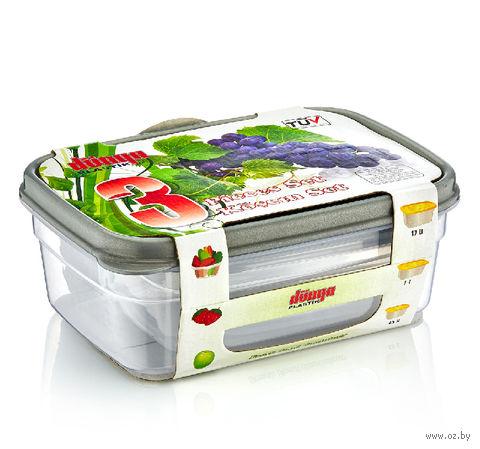 Набор контейнеров для продуктов (3 шт.; арт. 30040) — фото, картинка