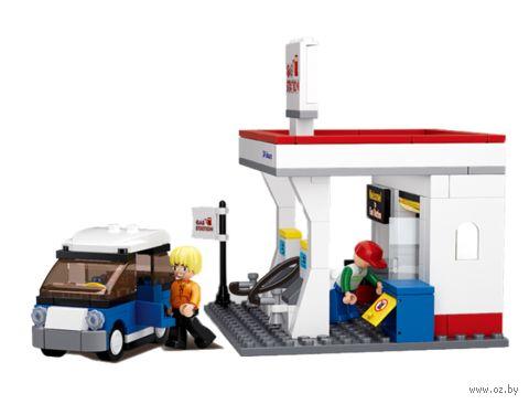 """Конструктор """"Автозаправочная станция"""" (167 деталей) — фото, картинка"""
