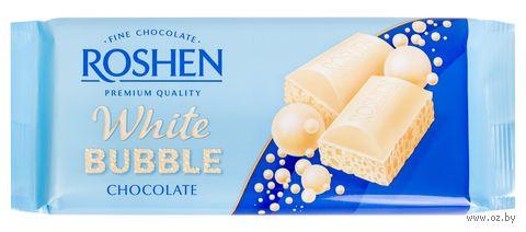 "Шоколад белый ""Roshen"" (85 г) — фото, картинка"