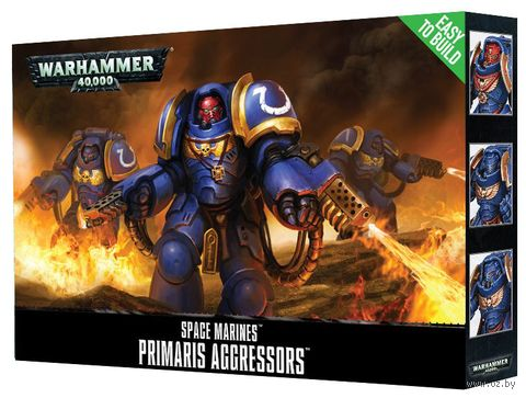 Warhammer 40.000. Space Marines. Primaris Aggressors. Easy to Build (48-86) — фото, картинка