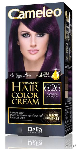 "Крем-краска для волос ""Cameleo"" (тон: 6.26, баклажан) — фото, картинка"