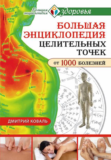Большая энциклопедия целительных точек для лечения 1000 болезней. Дмитрий Коваль
