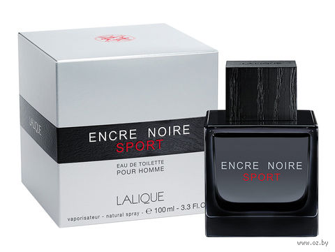"Туалетная вода для мужчин Lalique ""Encre Noire Sport"" (100 мл) — фото, картинка"