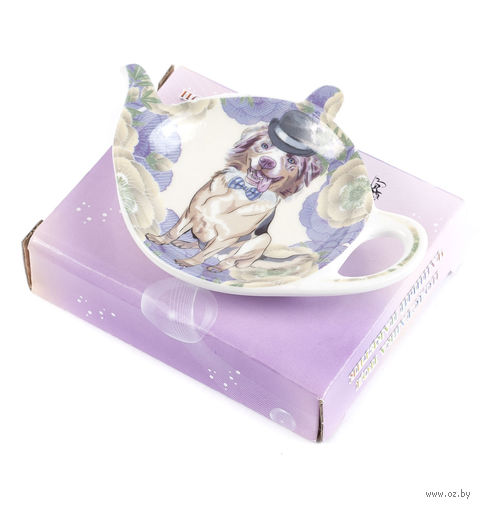 Подставка для чайного пакетика (9х7,5 мм; арт. XX-TBP-A4933) — фото, картинка