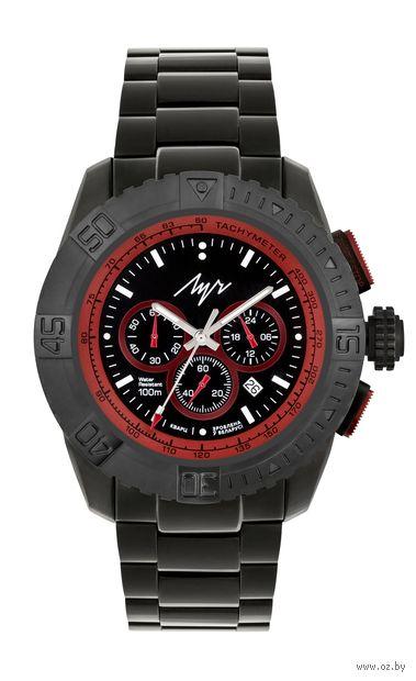 """Часы наручные """"Волат"""" (чёрные; арт. 928377381) — фото, картинка"""