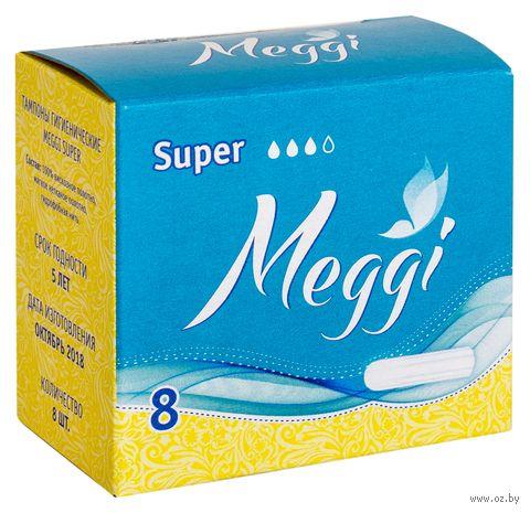 "Тампоны ""Meggi Super"" (8 шт.) — фото, картинка"