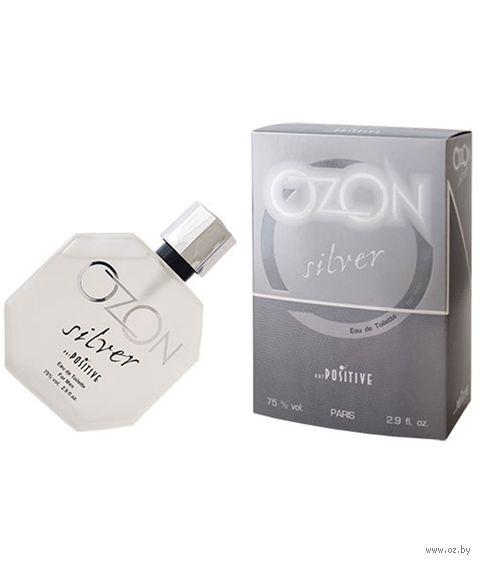 """Туалетная вода для мужчин """"Ozon Silver"""" (85 мл) — фото, картинка"""