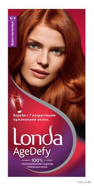 """Крем-краска для волос """"Londa AgeDefy"""" тон: 6/4, медно-каштановый — фото, картинка"""