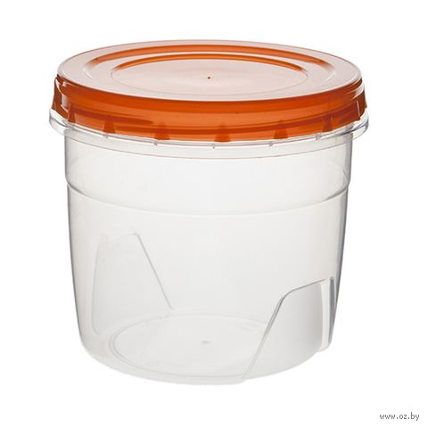 Банка для сыпучих продуктов пластмассовая (1,3 л) — фото, картинка
