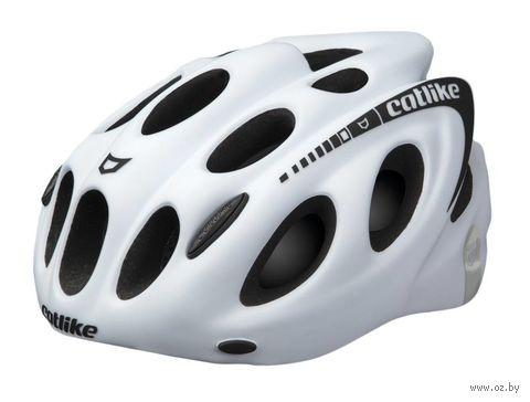 """Шлем велосипедный """"Kompakt'o"""" (M; белый) — фото, картинка"""